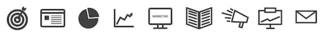 markting icons